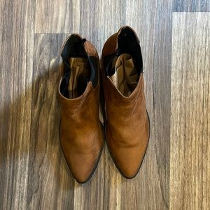 H&M Brown Felted Booties in Size 9.5